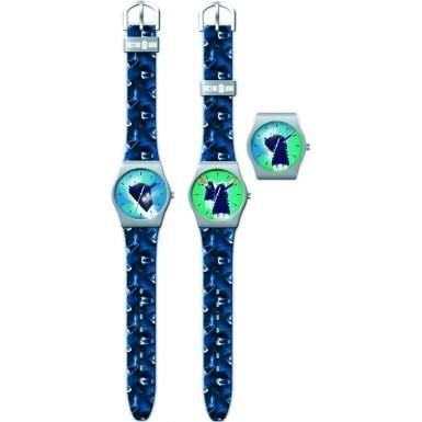 Dr Who Jungen-Armbanduhr Analog Kunststoff blau DR178