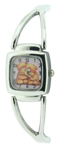 Forever Friends Damen-Armbanduhr Analog Formgehaeuse rosa FFR59B