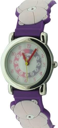 Forever Friends Kinder-Armbanduhr Analog Kunststoff violett FFR71A