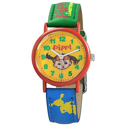 Pippi Langstrumpf - Kinderuhr - Hopsasa - Analog - Quarz - PE2060-914