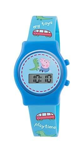 Kinder Peppa Pig PP010 Uhr, Silikon, Farbe: blau