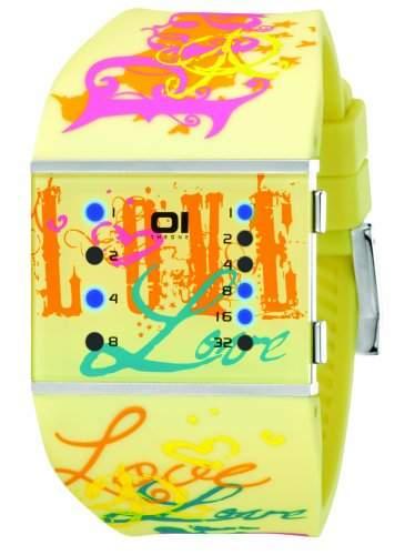 THE ONE - Binary Watch Damen-Armbanduhr Slim Square Lady Digital Quarz SLS137B3