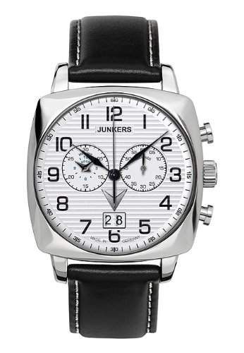 Junkers Chrono 6486-1 Chronograph fuer Ihn Made in Germany