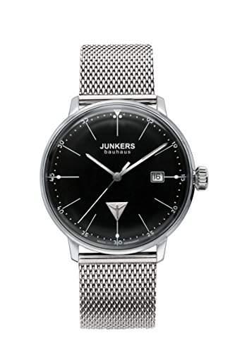 Junkers Herren-Armbanduhr Analog Quarz Edelstahl 6070M2
