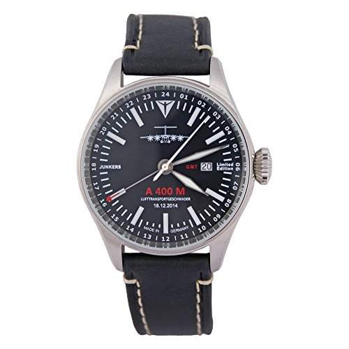 Junkers Herren Armbanduhr 6164-2A 400M Limited Edition