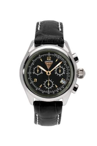 Junkers Damen-Armbanduhr Chronograph Quarz Leder 62892