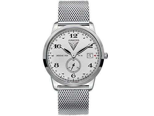 Junkers Herren-Armbanduhr Analog Quarz Edelstahl 6334M4