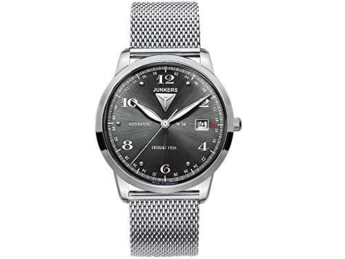 Junkers Herren-Armbanduhr Analog Automatik Edelstahl 6350M2