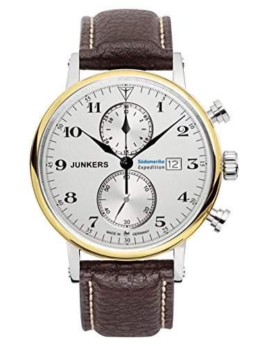 Junkers Herrenuhr Serie Suedamerika Expedition Chrono 6586-5