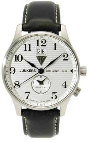 Junkers Inspiration 6640-1 3 Zeiger Uhr fuer Ihn Made in Germany
