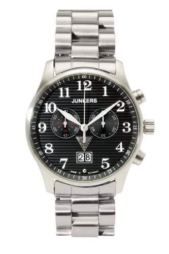 Junkers Herren-Armbanduhr Iron Annie JU 52 Chronograph 6686M-2
