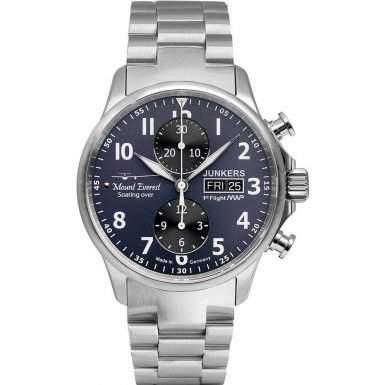 Junkers 6824M-3 Herren-Uhr MWP Chronograph Automatik