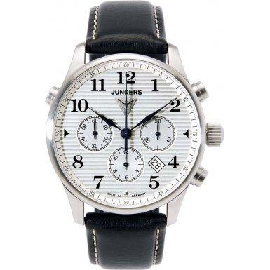 Junkers 6620 1 Herren Uhr Chronometer Chronograph Automatik