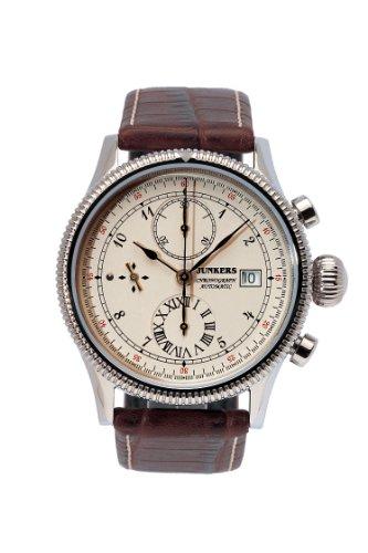 Junkers Automatik Uhr Chronograph mit Valjoux 7750 Ref 6510 1