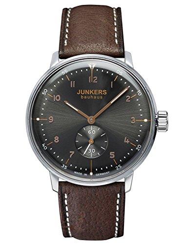 Junkers Bauhaus Handaufzug Herrenarmbanduhr 6030 2