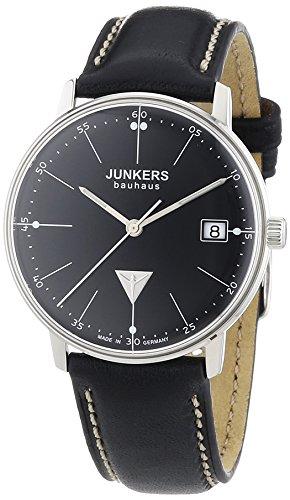 Junkers XS Bauhaus Analog Quarz Leder 60712