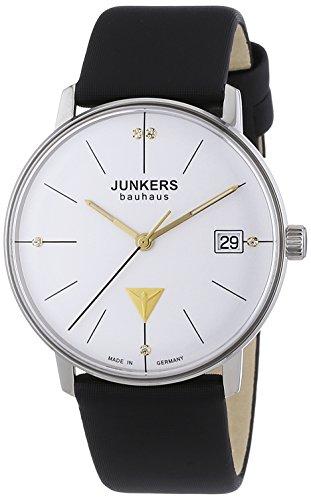Junkers XS Bauhaus Analog Quarz Leder 60731