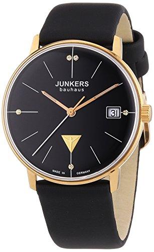 Junkers XS Bauhaus Analog Quarz Leder 60752