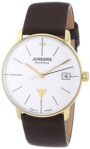 Junkers XS Bauhaus Analog Quarz Leder 60754