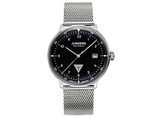 Junkers Herren Armbanduhr Analog Quarz Edelstahl 6046M2
