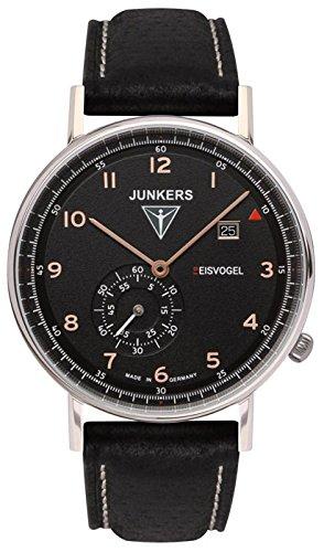 Junkers Herren Armbanduhr Analog Quarz Leder 67305