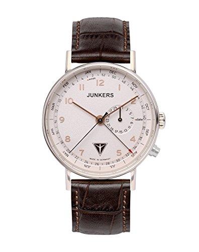 Junkers Herren Armbanduhr Analog Quarz Leder 67344