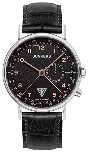 Junkers Herren Armbanduhr Analog Quarz Leder 67345