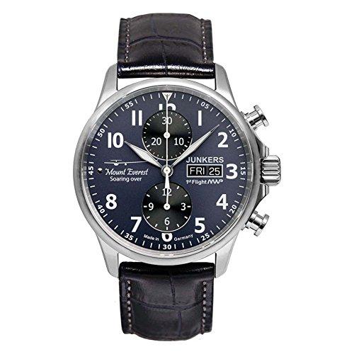 Junkers Chronograph Automatik Leder 6824S3