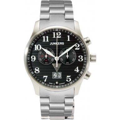 Junkers Chronograph Quarz Edelstahl 6686M2