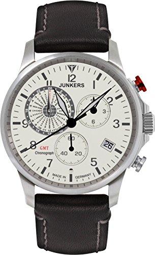 Junkers Chronograph Quarz Leder 68925