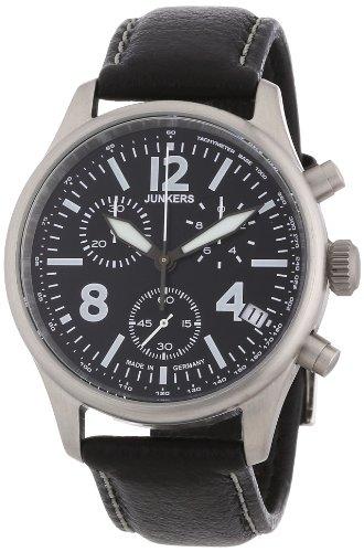 Junkers XL Flugweltrekorde G38 Chronograph Quarz Leder 62882