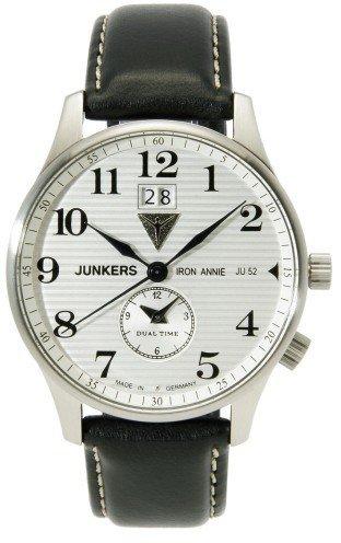 Junkers Iron Annie Ju52 Analog Quarz One Size silber schwarz
