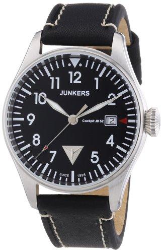 Junkers XL Analog Quarz Leder 6144 2