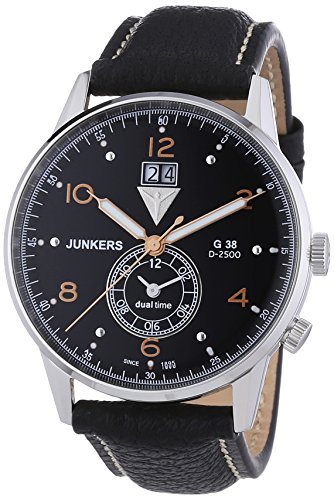 Junkers XL G 38 Analog Quarz Leder 69405
