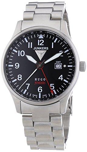 Junkers XL Hugo Analog Quarz Edelstahl 6644M2