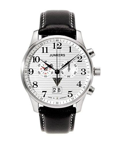 Junkers XL Iron Annie JU52 Chronograph Quarz Leder 66861