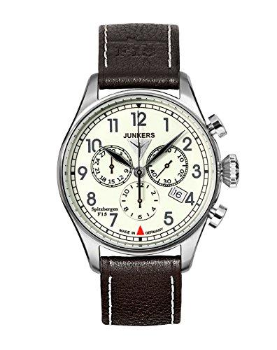 Junkers XL Spitzbergen F13 Chronograph Quarz Leder 61865
