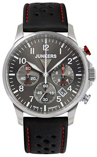 Junkers Tante Ju Herrenuhr Chronograph 6874 2