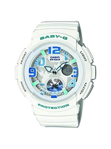 Casio Damen-Armbanduhr Analog - Digital Quarz Resin BGA-190-7BER