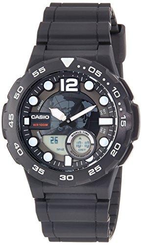 Casio Armbanduhr Gummi AEQ 100W 1A