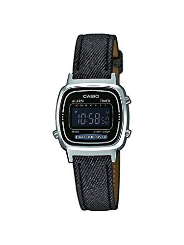 Casio Collection Damen Retro Armbanduhr LA670WEL 1BEF