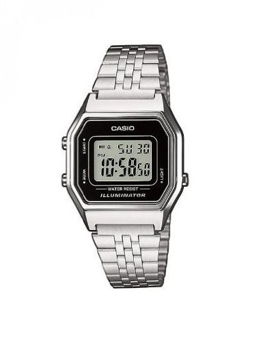 Casio Collection Damen Retro Armbanduhr LA680WEA 1EF