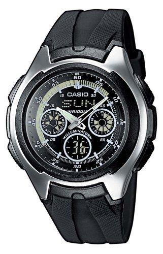 Casio Collection Herren Armbanduhr Analog Digital Quarz AQ 163W 1B1VEF