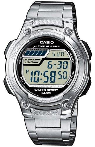 Casio Collection Digitaluhr Alarm W 212HD 1AVES