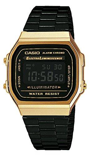 Casio Unisex Armbanduhr A168WEGB 1BEF