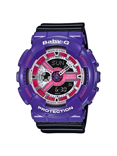 Casio Damen Armbanduhr Baby G Analog Digital Quarz Resin BA 110NC 6AER
