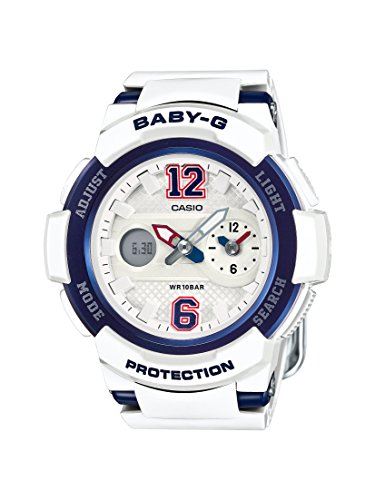 Casio Damen Armbanduhr Baby G Analog Digital Quarz Resin BGA 210 7B2ER