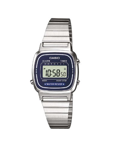 Casio XS Casio Collection Digital Quarz Edelstahl LA670WEA 2EF
