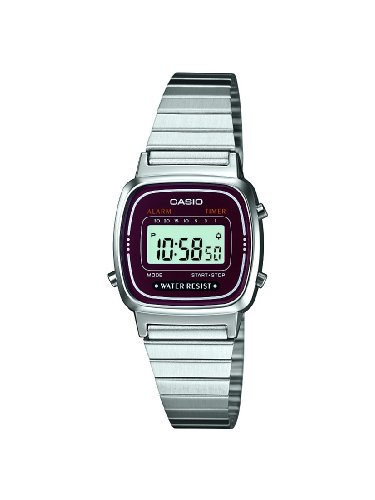 Casio XS Casio Collection Digital Quarz Edelstahl LA670WEA 4EF