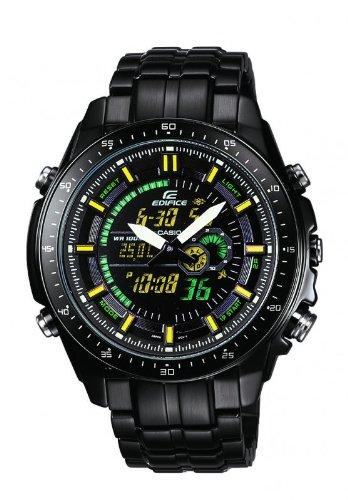 Casio Edifice Herren Armbanduhr Analog Digital Quarz EFA 132BK 1AVEF